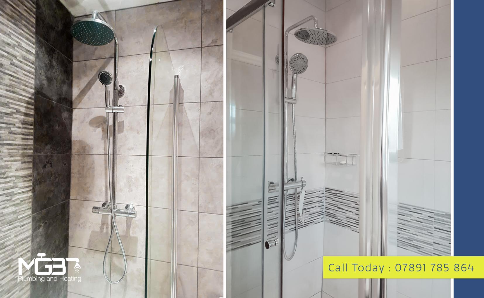 Shower Installation by MGB